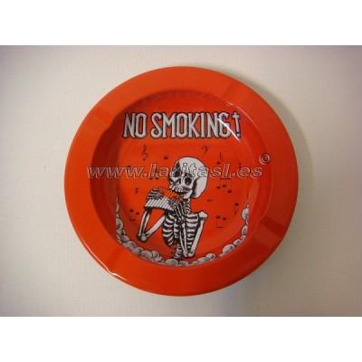 Cenicero metal No Smoking