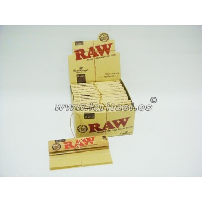 Papel Raw King Size + Tips