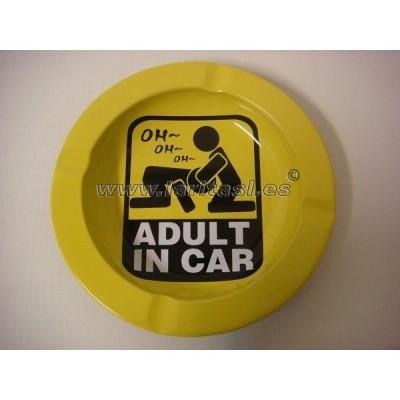 Cenicero metal Adult in Car