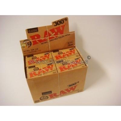 Papel Raw 300 (caja 40 librillos)