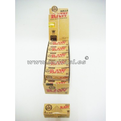 Papel Raw Rollo (12 rollos)