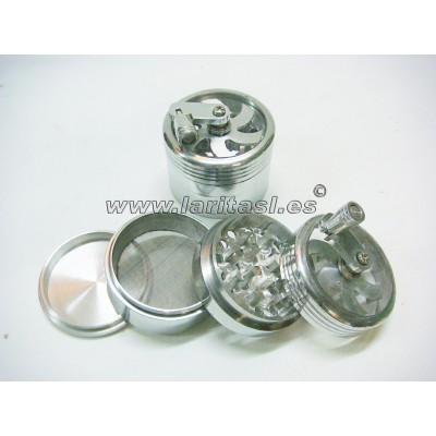 Grinder aluminio molinillo